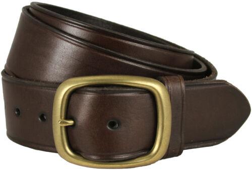 "Brown Tennessee Gold Men/'s Leather Work Uniform Belt 1 3//4/"" Wide"