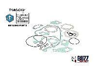 Vespa Gasket Set Genuine Piaggio Quality PX125 Disc Autolube Injection