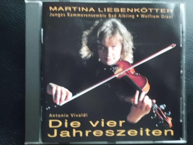 MARTINA  LIESENKÖTTER  -  DIE  VIER JAHRESZEITEN ,   CD 1994 , WOLFRAM GRAUL