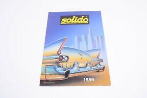 100% De Qualité Solido Cleve Catalogue 1989 Très Bon état Convient Aux Hommes Et Aux Femmes De Tous âGes En Toutes Saisons