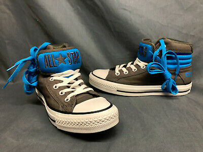 Converse Chuck Taylor PC Primo Hi Fashion Sneakers Gray Blue Girls Size 5 NEW! 22869401620 | eBay