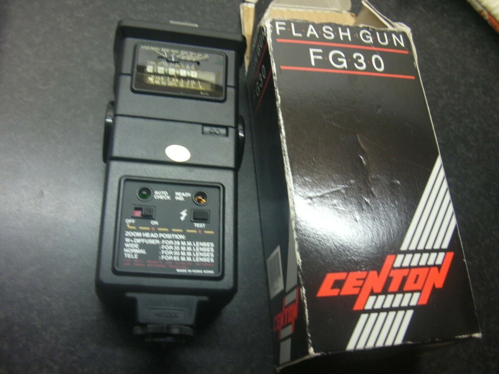 Centon FG30 Bounce & Zoom & Swivel Flash, Boxed, Tested, vgc