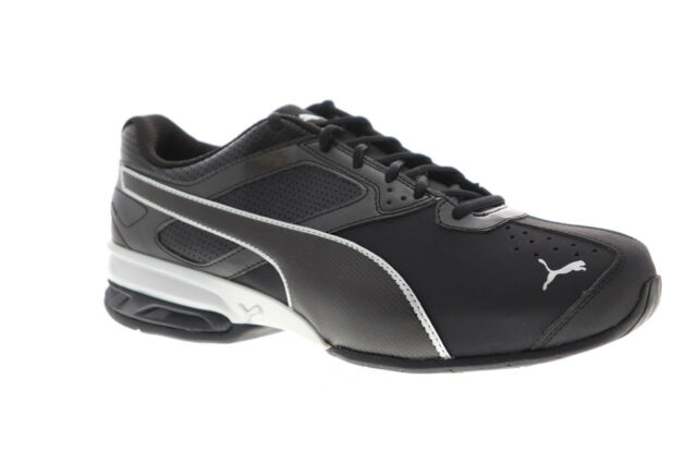 PUMA Tazon 6 FM Wide 18987403 Black Synthetic Casual Running