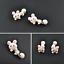 Coniglio-Coniglietto-Orecchini-a-Farfalla-Animale-in-Bambini miniatura 5