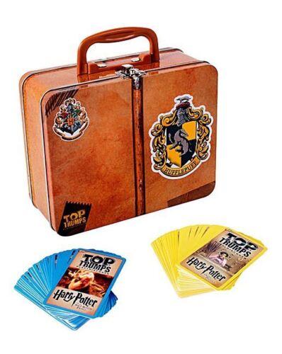Harry Potter Top Trumps Hufflepuff Collector 60 card Tin