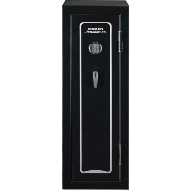 18 Gun Fire Resistant 1400 Degrees Convertible Safe With 2 Way Electronic  Lock