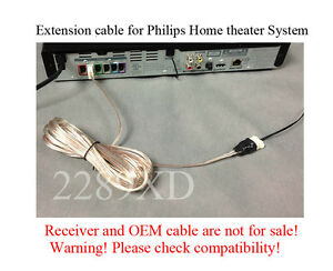 12ft speaker extension cable wire cord fits select philips home rh ebay com Wiring a Home Theater Room Orb Home Theater Wiring Diagram