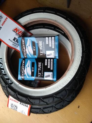 Kenda avec Wall Pram Pushchair Stroller Buggy tyres 12 1//2 x 1.75 x 2 1//4 /& Tubes