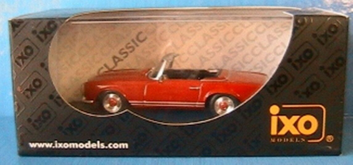 MERCEDES BENZ ROADSTER OPEN 230SL CABRIOLET RED IXO NEW 1 43 red red