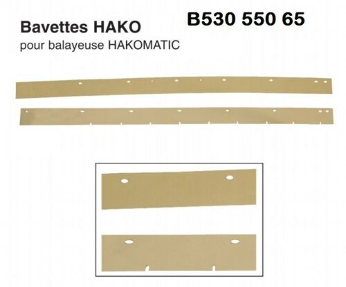 HAKO HAKOMATIC AUTOLAVEUSE B65 B530 B550 RACLETTE BAVETTE AVANT Dim 940 50 5 mm