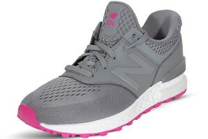 best service 52325 14aa5 Image is loading New-Balance-Women-039-s-Shoes-Grey-Pink-