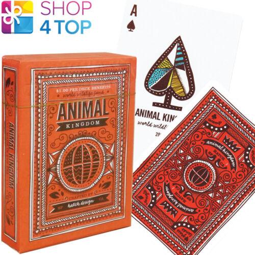 ANIMAL KINGDOM THEORY 11 SPIELKARTEN DECK MAGIE TRICKS VERPACKT USA NEU