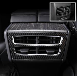 Cubierta de ventilaci/ón trasera de fibra de carbono para consola central