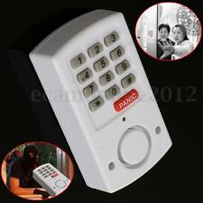 Wireless Panic Alarm With Security Keypad For Garden Shed Garage Door Window