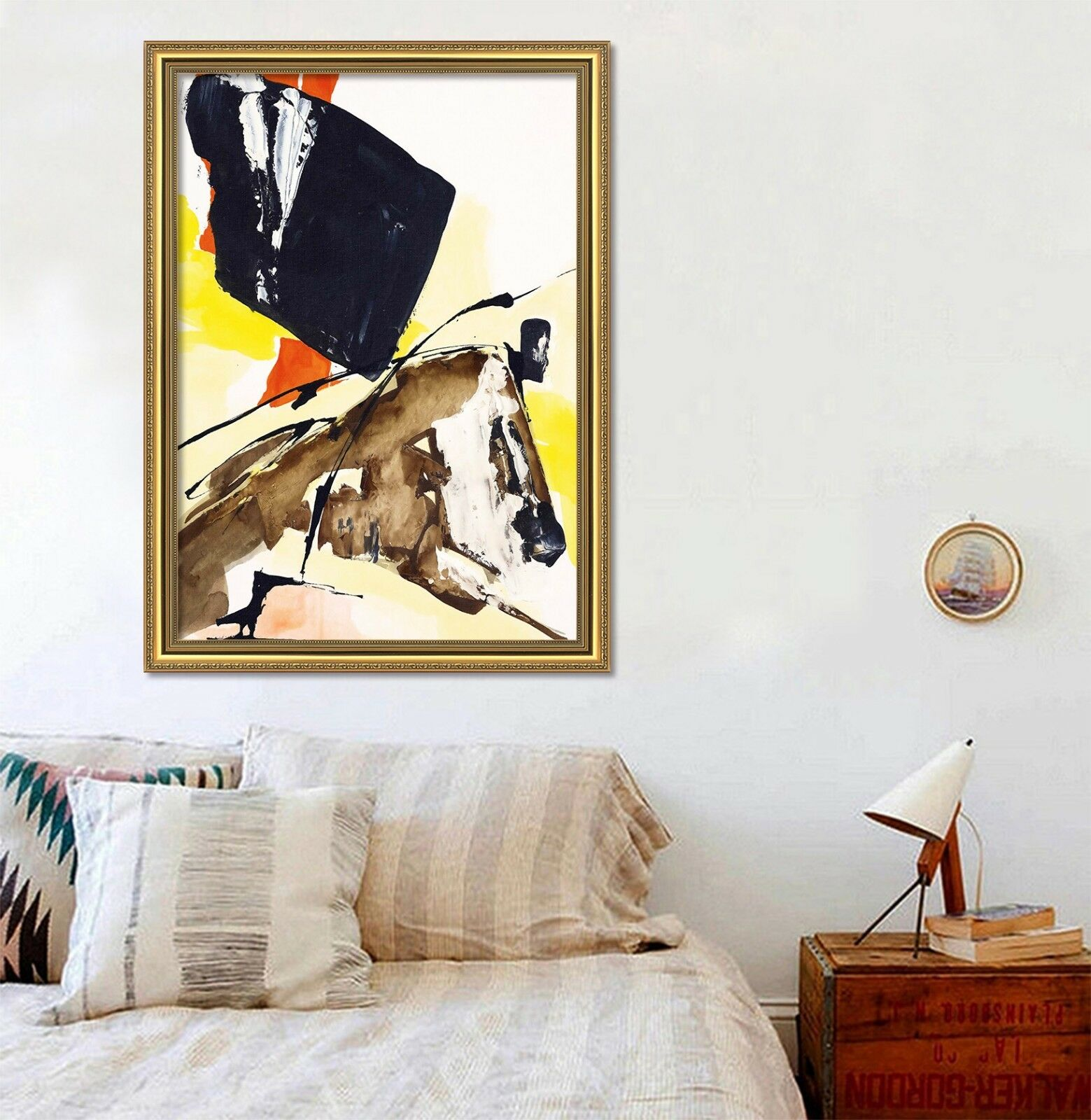 3D Kunstwork Painting 2 Framed Poster Home Decor Drucken Painting Kunst AJ WandPapier