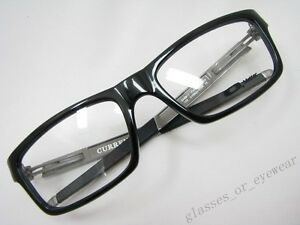 339e2c8700 Image is loading Eyeglass-Frames-Oakley-CURRENCY-OX8026-0554-Polished-Black-