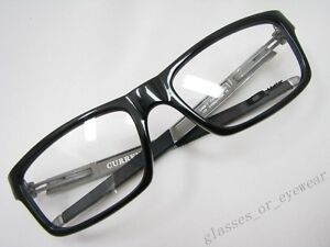Plastic Glasses Frame Polish : Eyeglass Frames-Oakley CURRENCY OX8026-0554 Polished Black ...