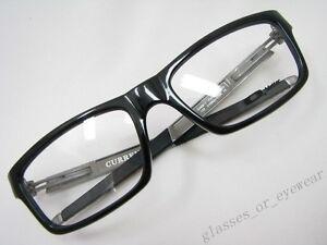 a4d24e8472e Image is loading Eyeglass-Frames-Oakley-CURRENCY-OX8026-0554-Polished-Black-