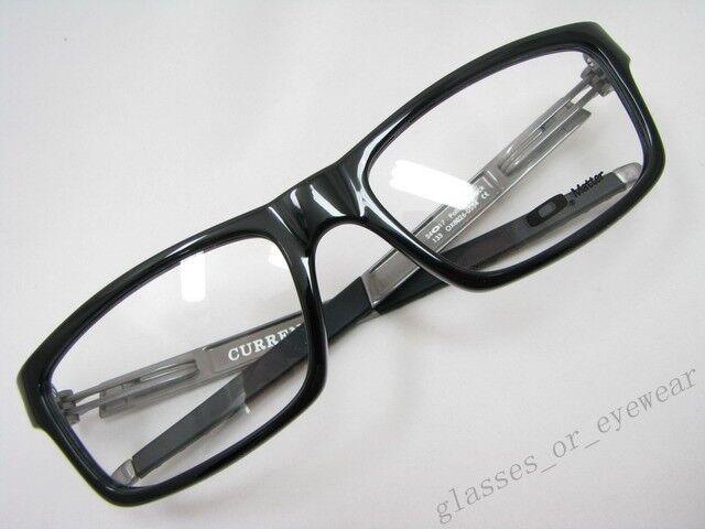 f135d77f51 Oakley Eyeglasses Frame Size 54 - Polished Black for sale online