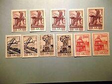 PR China Stamps 1954 S8 Economic Construction  18 MNH+1CTO SC#214-220