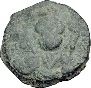 CRUSADERS of Antioch Tancred Ancient 1101AD Byzantine Time Coin St Peter i64768