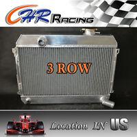 3 Row For Datsun 510 521 1.6 L4 1968 1969 1970 1971 1972 1973 Aluminum Radiator