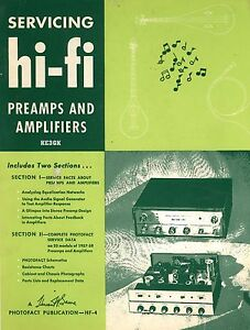Details about Servicing Hi-Fi Pre Amps and Amplifiers * 1959 * CDROM * PDF
