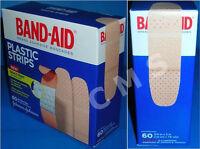 Band-aid Plastic Strips Adhesive Bandages 3/4x3 60 J&j Johnson&johnson Quiltvent