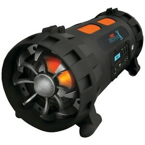 NEW-Pyle-Pbmspg200-Street-Blaster-X-Portable-Bluetooth-r-boom-Box-Speaker-System