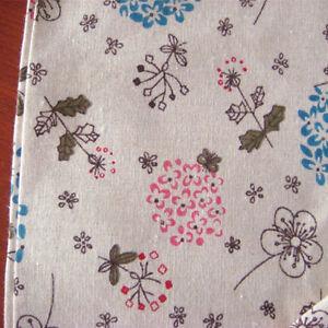 50x150cm-Cotton-Linen-Fabric-Print-Dandelion-DIY-Cushion-Pillow-Cloth-F19-B