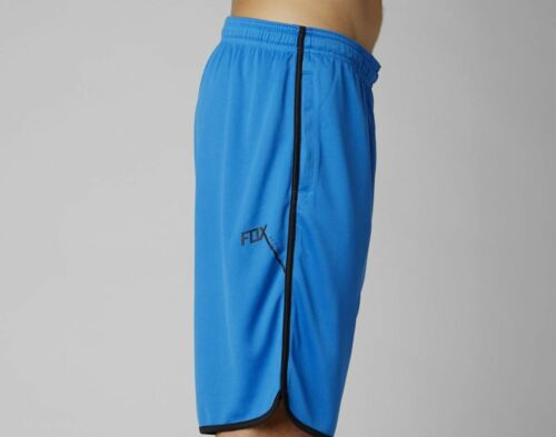 NEW MENS FOX change Active ATHLETIC SHORTS BLUE