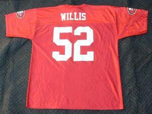 efd0657cc NFL Team Apparel San Francisco 49ers Patrick Willis  52 Jersey Size ...