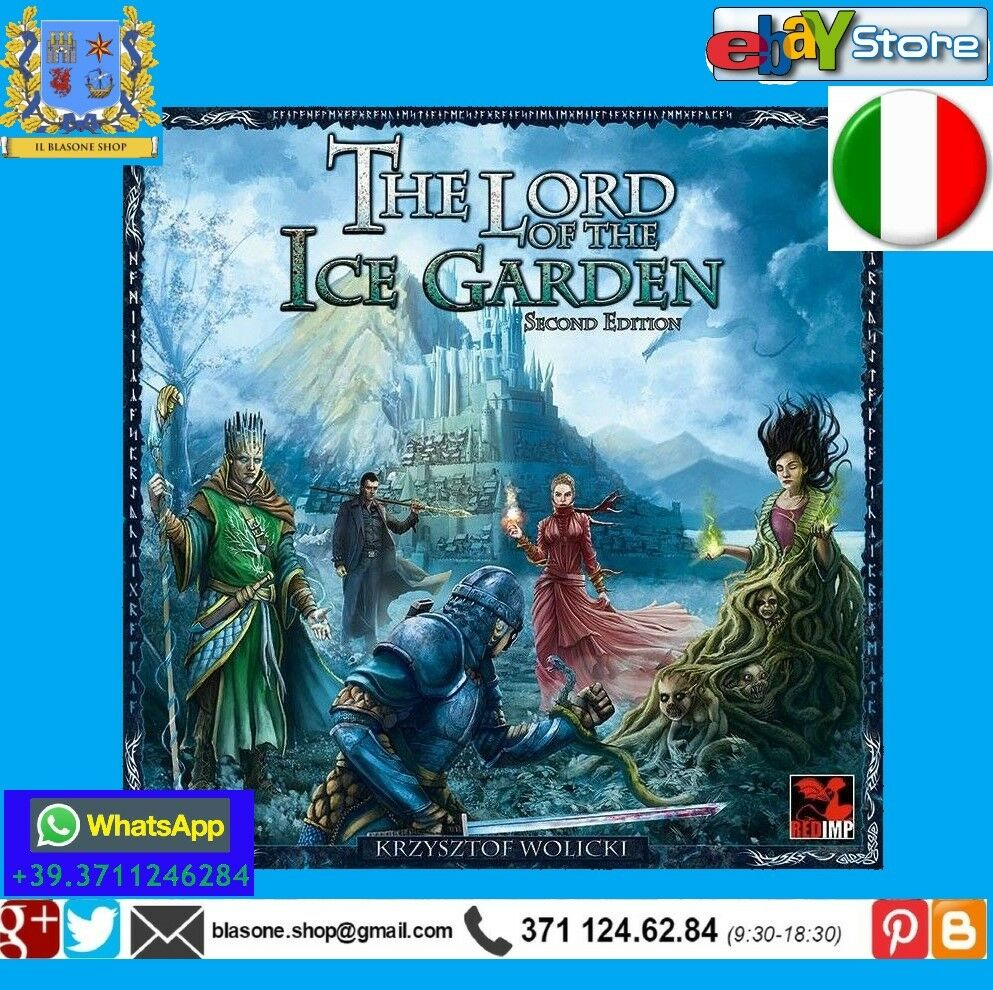 The Lord of the Ice Garden - Gioco da tavolo rossoImp Publishing ITALIANO Midgaard