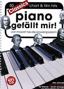 Klavier-Noten-Piano-gefaellt-mir-50-Classics-leichte-Mittelstufe