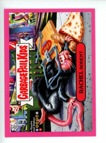 """2019 GPK NYC TAKEOVER /""""NEAR/"""" Complete A /& B PINK Set 19 Cards Garbage Pail Kids"""