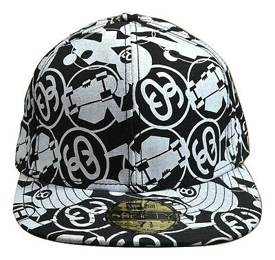Stussy CYCO Black White Screenprint Baseball Cap Discounted Men's Hat