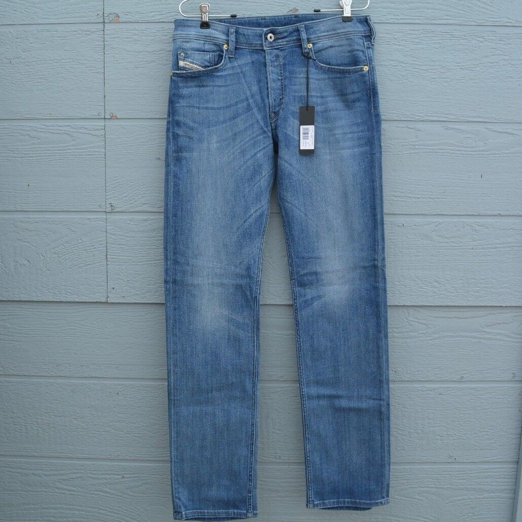 ORIGINAL DIESEL JEANS FOR MEN ( WAIST 30 X 34 L ) WAYKEE REGULAR-STRAIGHT