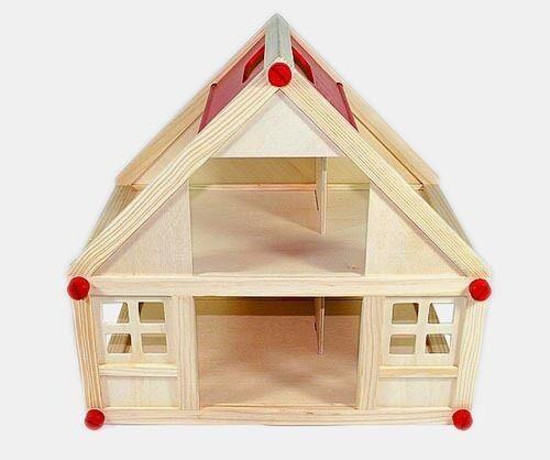 Frossoa rosé casa delle Bambole + Mobili 28 pezzi + COPERTINA + Culla + famiglia vestiti di cambio