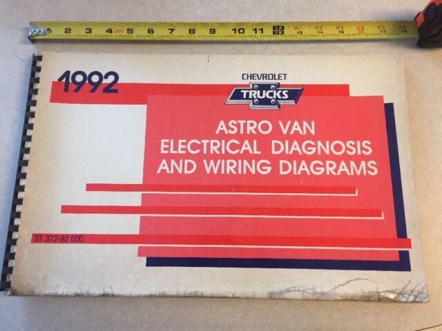 1992 Chevrolet Astro Van Electrical Wiring Diagram