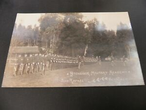San-Rafael-California-CA-Hitchcock-Military-Academy-RPPC-Real-Photo-Marin-County