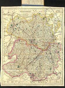 Antique-maps-Shropshire