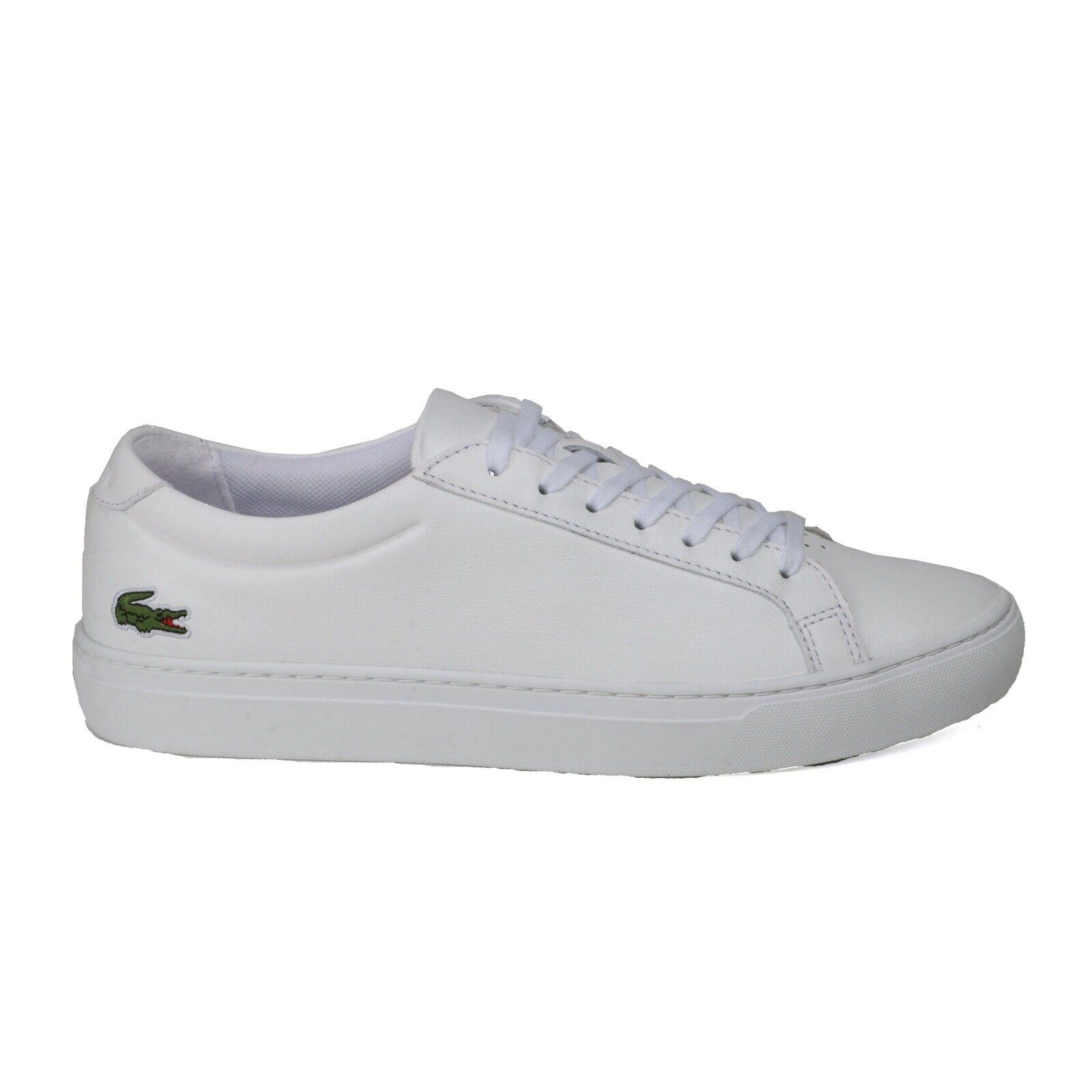 Sneaker LACOSTE L.12.12. weiss  Glattleder NEU Gr.43