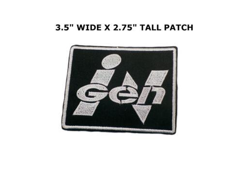"""Jurassic Park /""""INGEN/"""" Patch Movie Badge 3.5 /""""X 2.75/"""" FREE S/&H"""