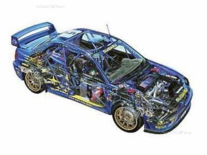 Ownersu0027 Workshop Manual: Subaru Impreza Group A Rally Car 1993 To 2008  (Includes All Rally Cars) By Andrew Van De Burgt (2017, Hardcover)