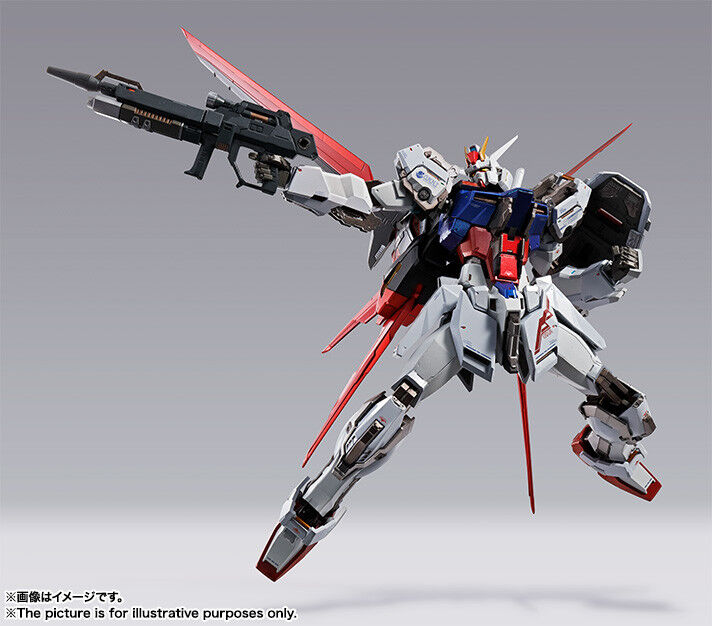 Bandai METAL BUILD Aile Strike Gundam Japan version