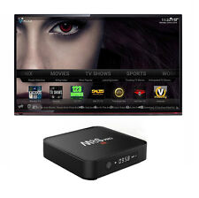M8S PRO 4K CON DISPLAY ANDROID INTERNET TV SMART BOX 2GB / 8GB DECODER IPTV led