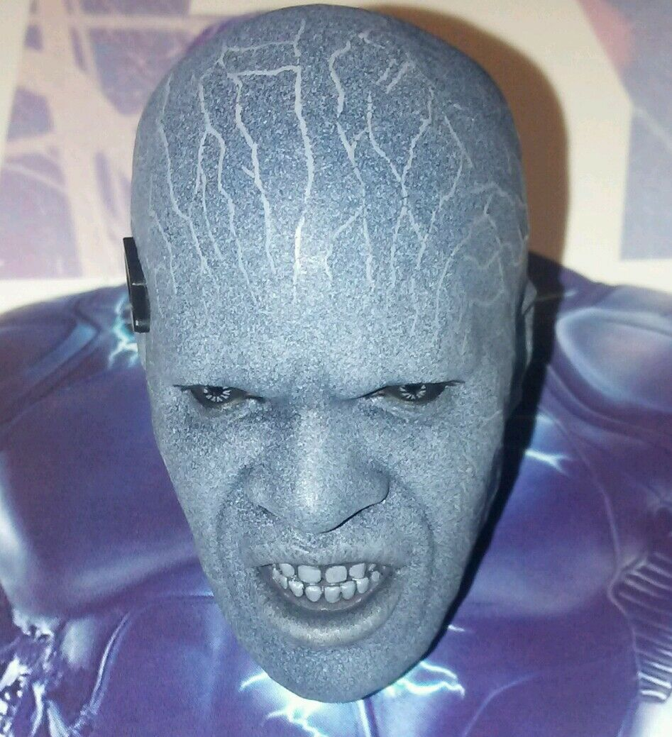 1 6 Hot Toys Electro Sculpted Head with Led Lighting MMS246 US Seller