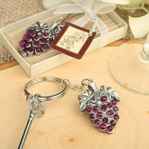 Vineyard Collection Grape Vine Design Key Chain
