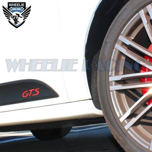 Links+Rechts Sideblade Körper Reflektierende Vinyl Sticker Set für Porsche GTS