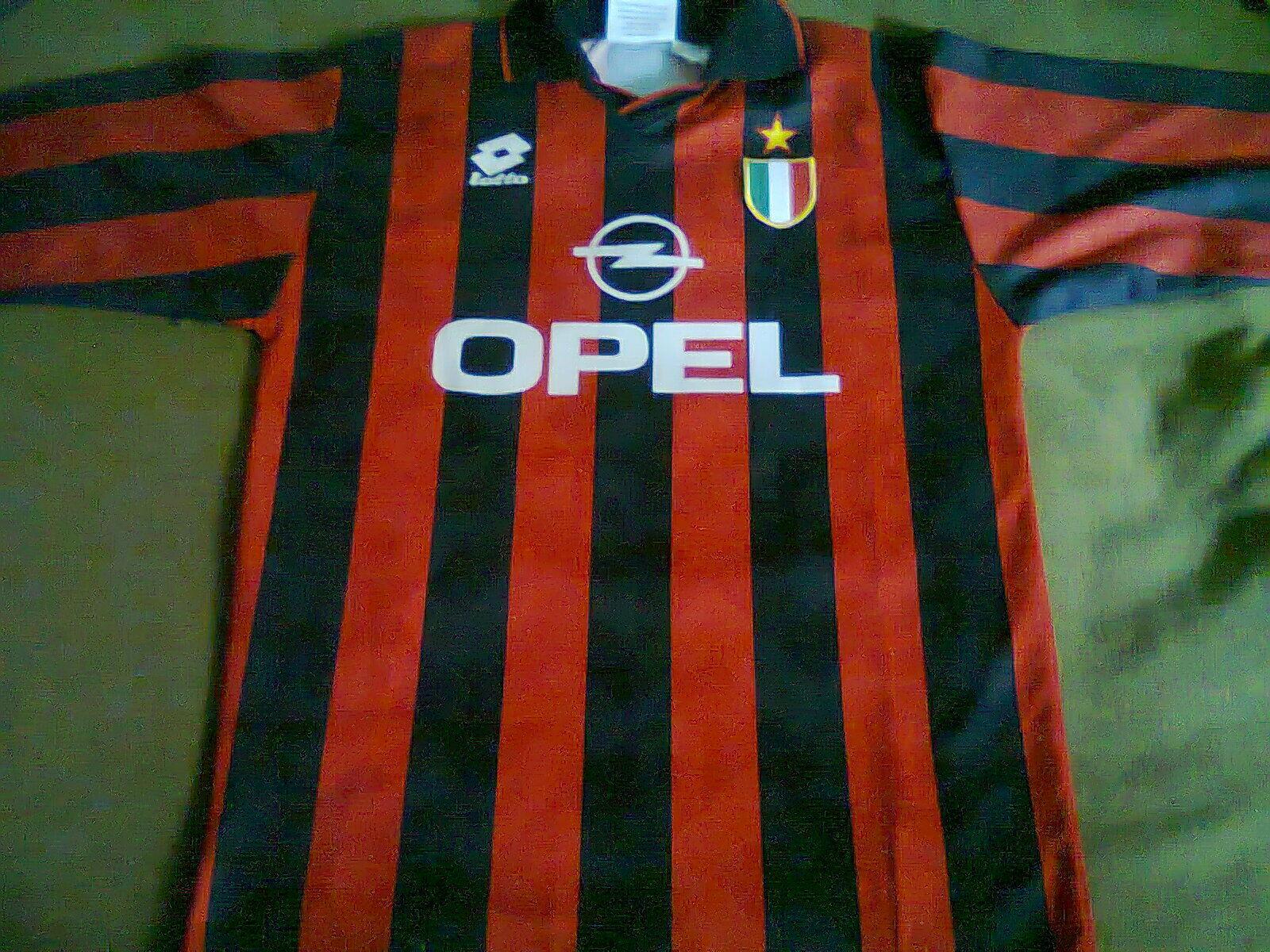 Maglia AC Milan home shirt camiseta trikot maillot tg. M chest 52 cm. VINTAGE